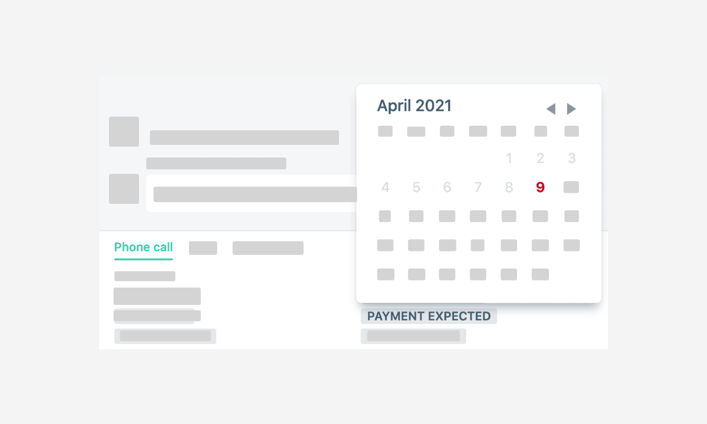 Expected Payment Dates