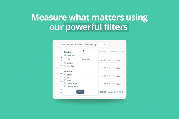 Measure what matters with Debtor Daddy's New Filters
